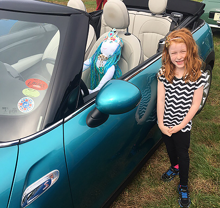 Car Seats & Accessories Baby Devoted Green Alien Outta This World Personalised Car Sunshade Custom Window Kids Baby Customers First